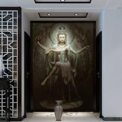 Cheap-Chinese-large-mural-wallpaper-stickers-off-the-entrance-hallway-Dunhuang-classical-background-wallpaper-Wallpaper-392.jpg